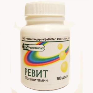 Витаминный препарат Ревит