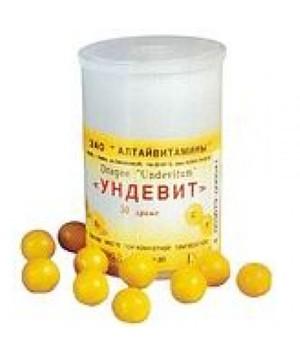 Витамины при простуде и гриппе ундевит thumbnail