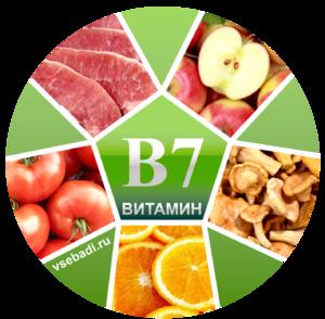 Витамин В7 описание, свойства