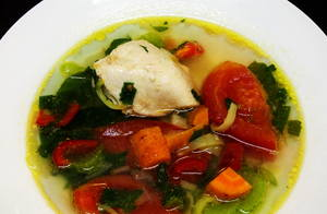 Куриный суп с овощами