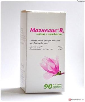 Дозировка Магнелиса б6
