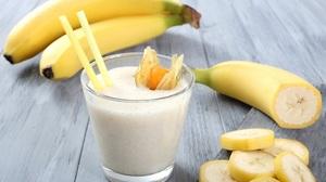 Рецепт бананового белкового коктейля